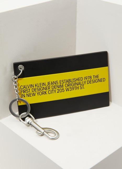 Calvin Klein est. 1978Porte clés Est. 1978