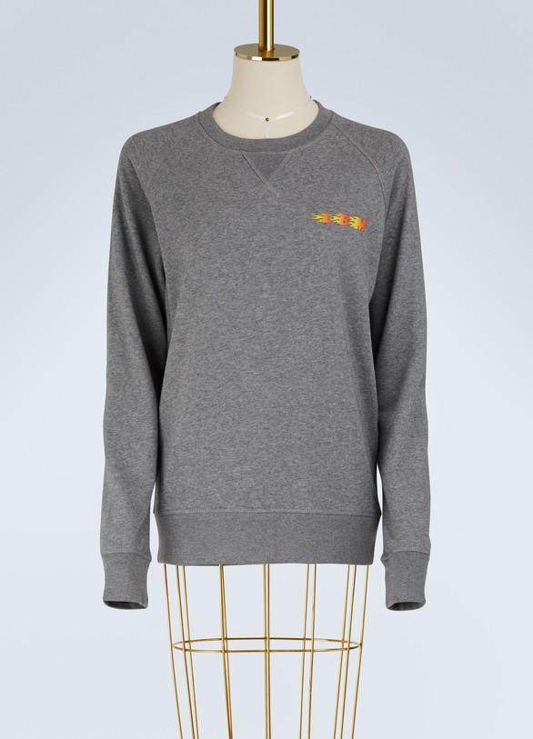 Le Bon MarchéCotton logo sweatshirt