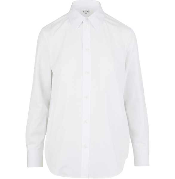 CELINE Classic point collar shirt