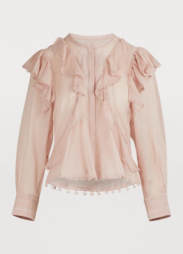 db4dde8daef64 Isabel Marant Etoile. Isabel Marant Etoile Alea cotton blouse