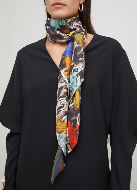 LA PRESTIC OUISTONTexas scarf