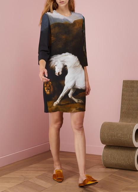 Stella McCartneyKira Horse Print Dress
