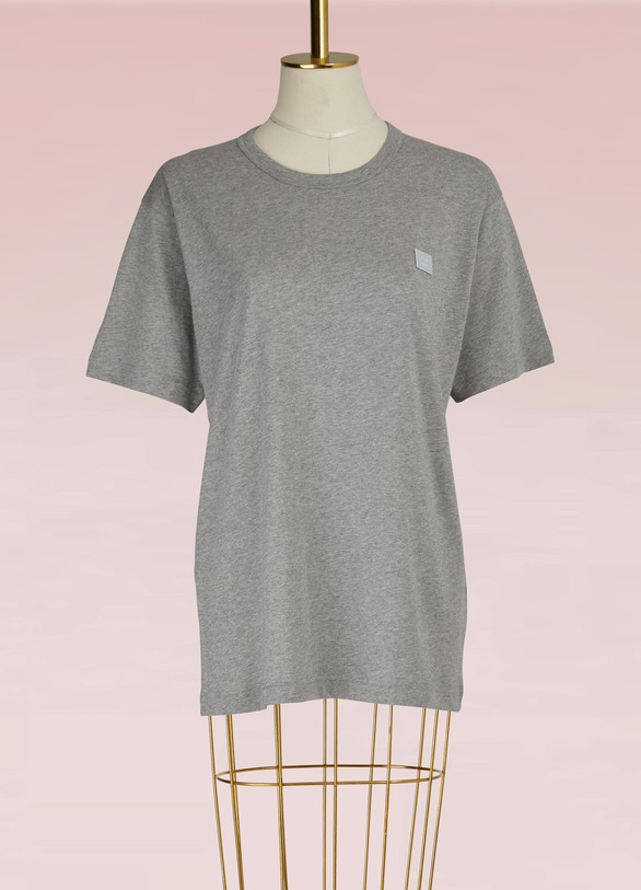 ACNE STUDIOST-shirt Nash face en coton