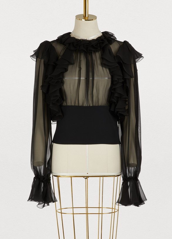 Dolce & GabbanaSilk blouse