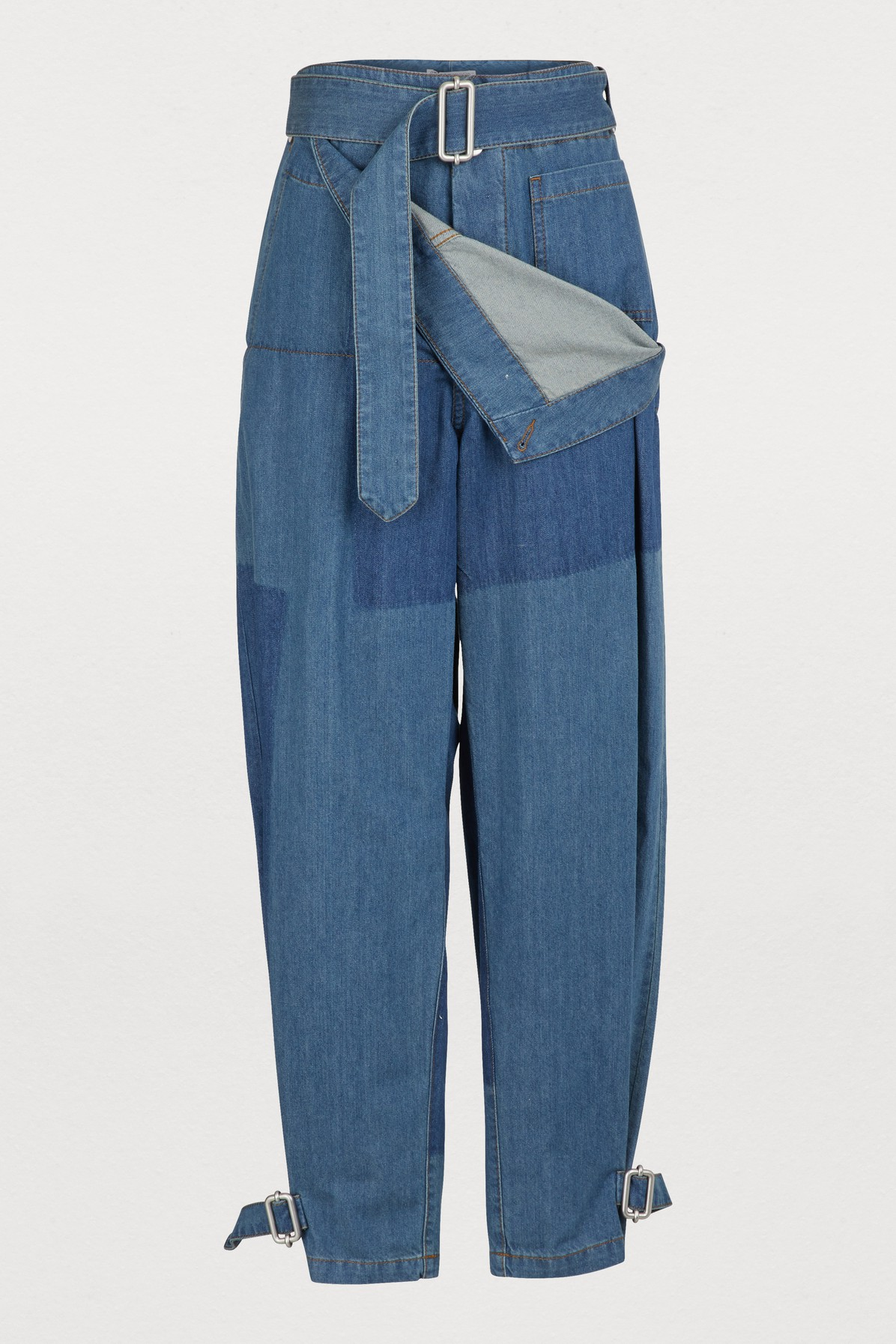 J.W.ANDERSON BUTTONED JEANS