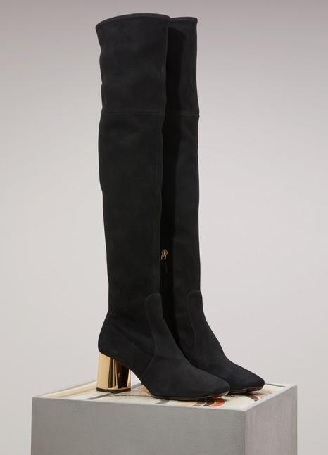 PradaSuede high boots