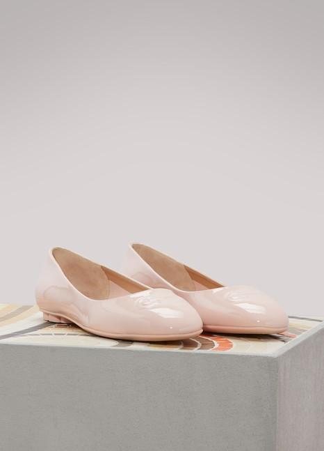 Salvatore FerragamoBroni ballet pumps