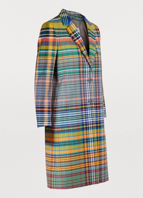 DRIES VAN NOTENChecked coat