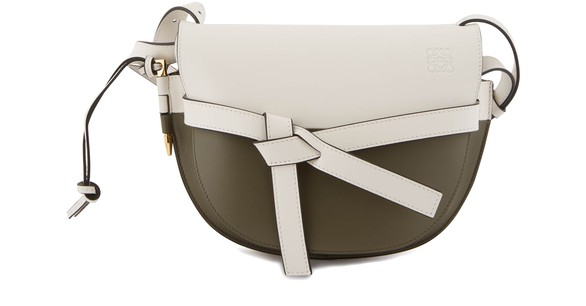LOEWE Small Gate colour block crossbody bag