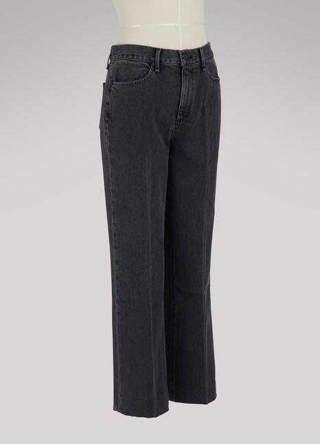 Rag & BoneDylan high-waisted straight jeans