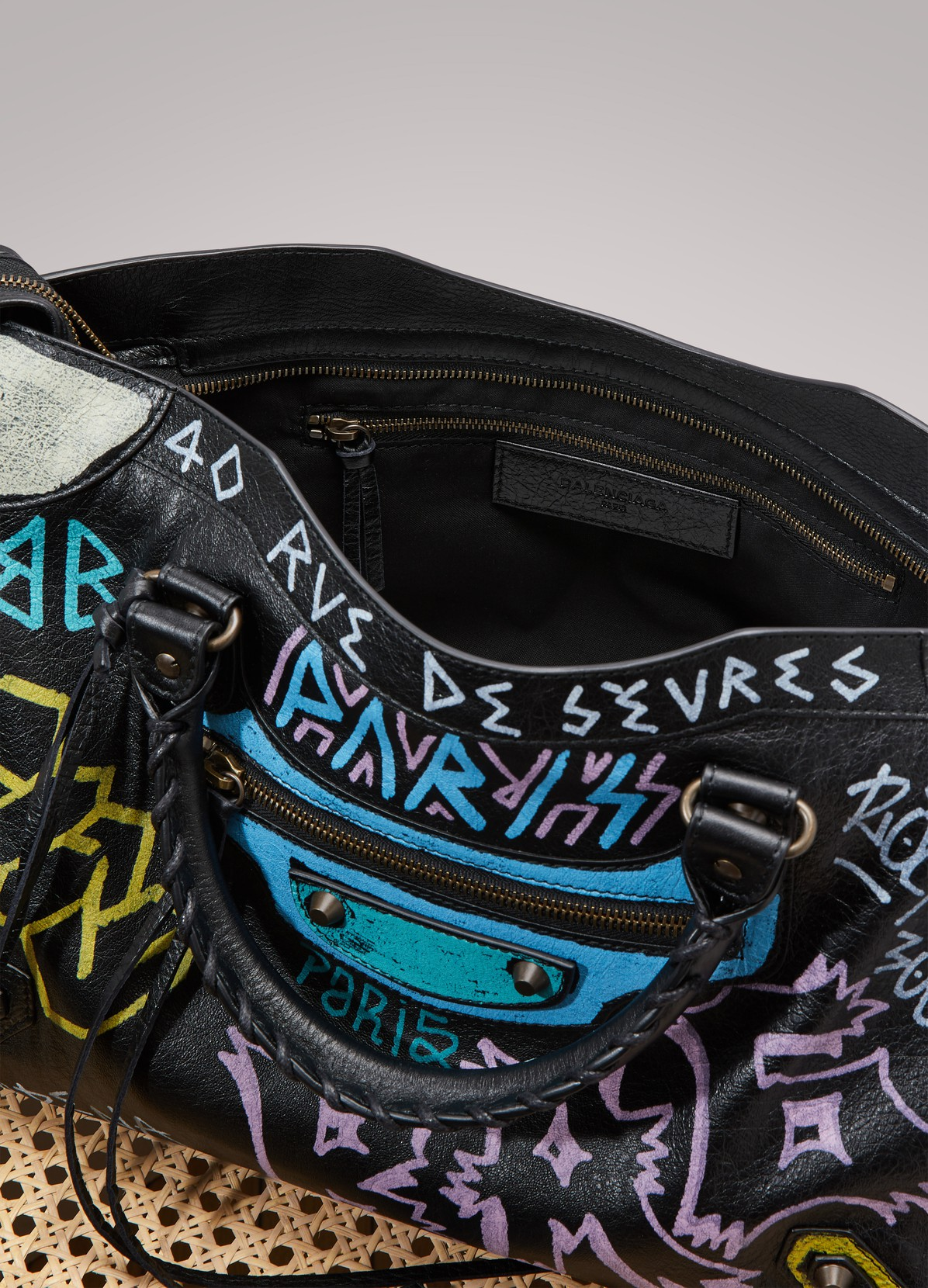 Balenciaga Graffiti City Bag