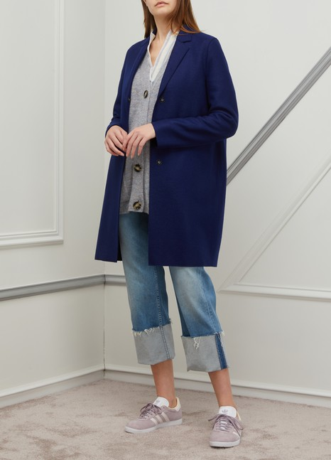 Harris Wharf London Cocoon wool coat