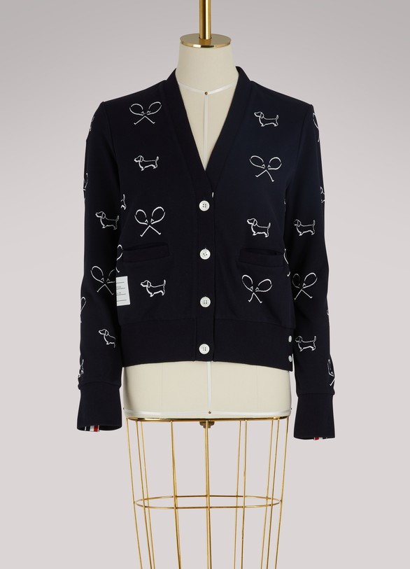 Thom Browne Embroidered cardigan