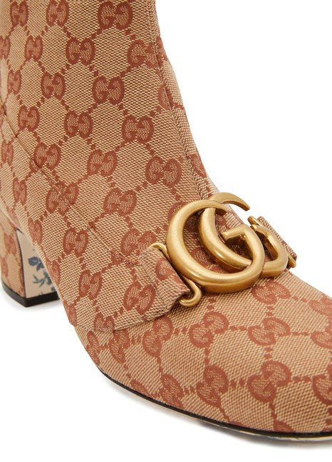 GUCCI Original GG ankle boots