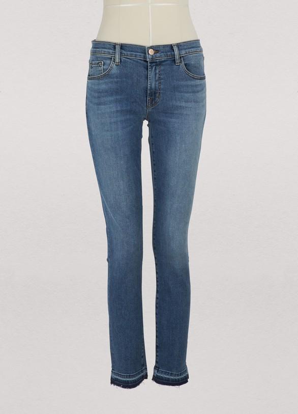 J BrandSkinny mid-rise jeans