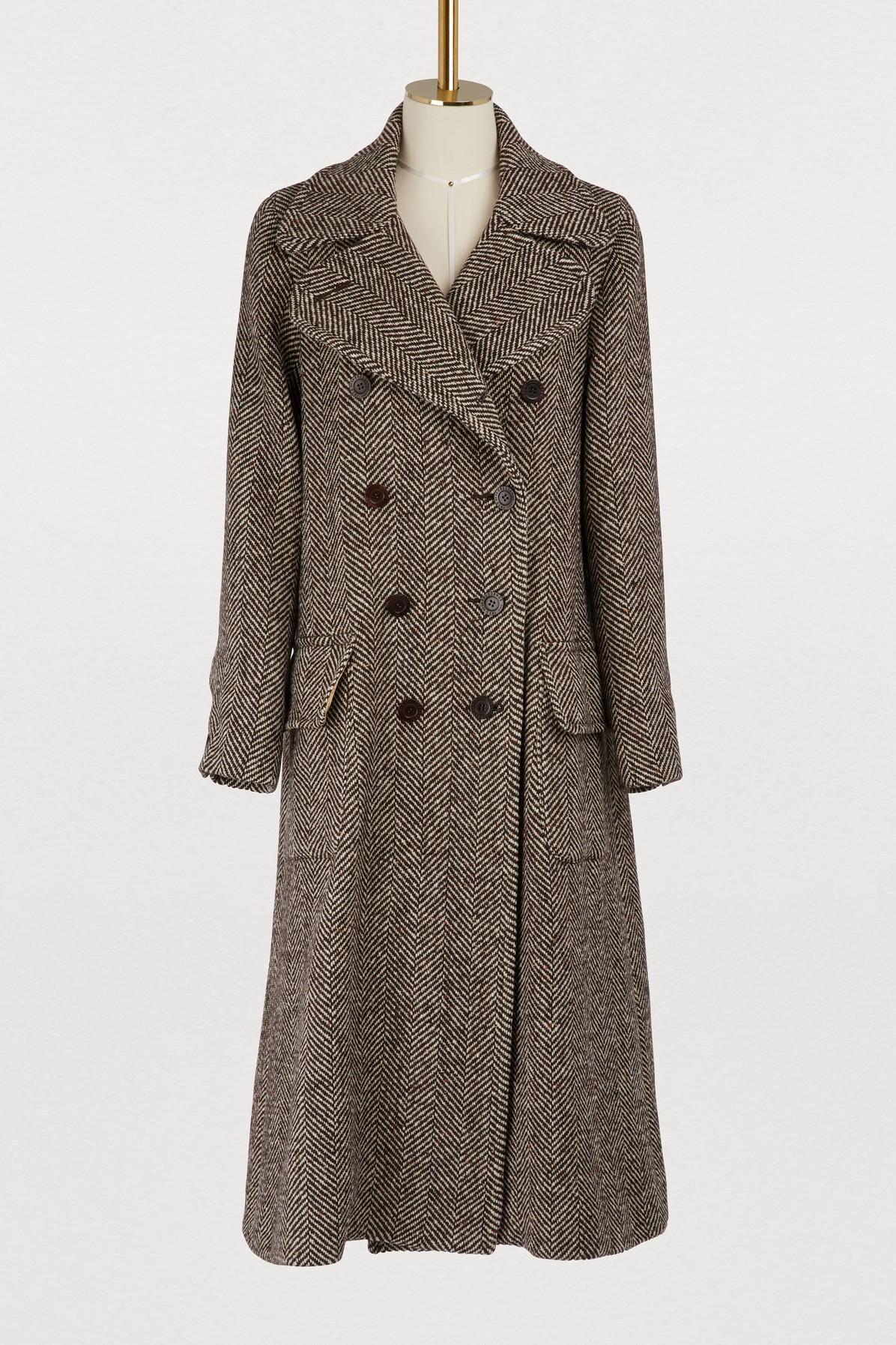 Manteau Auguste en laine