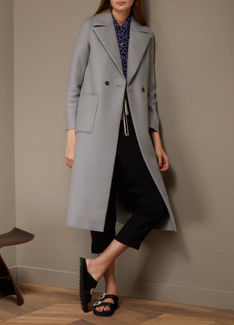 Harris Wharf London Manteau Boxy Duster en laine