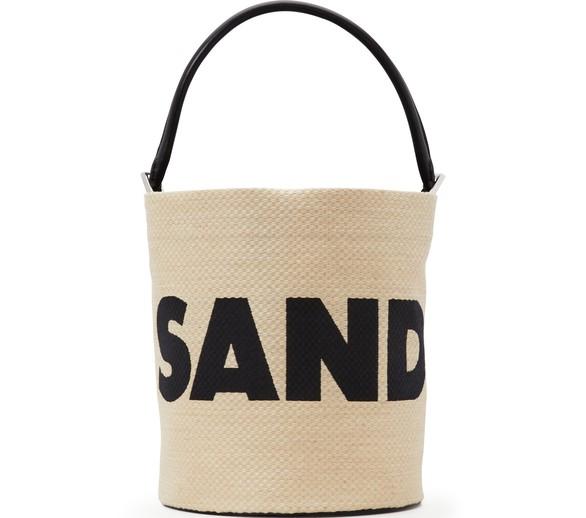 JIL SANDERJute bucket bag
