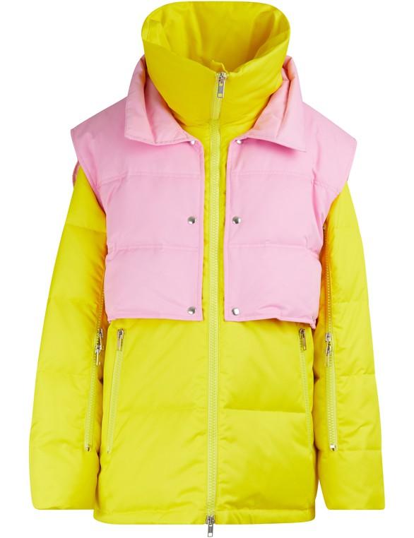 CALVIN KLEINDown jacket with zippered sleeves