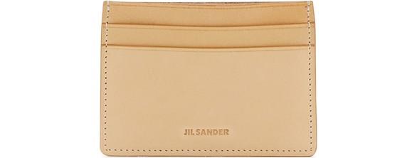 JIL SANDERLeather cardholder