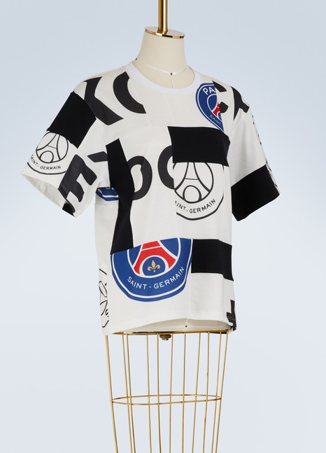 KOCHÉ PSG logo cotton T-shirt