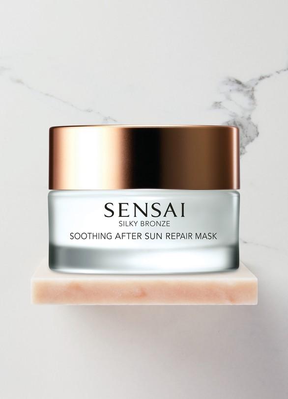 SensaiSilky Bronze Masque Réparateur et Apaisant Après-Soleil