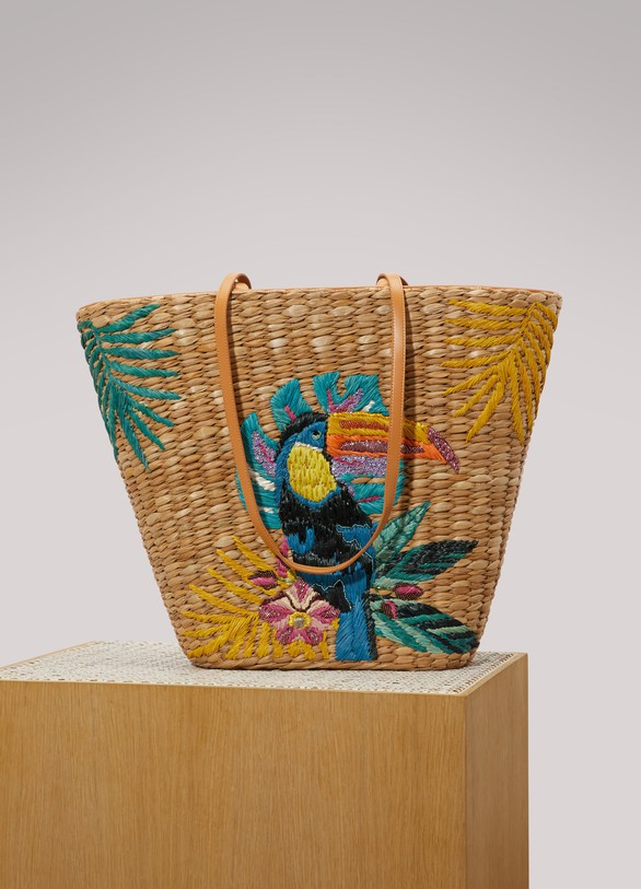 Aranaz Toco embroidered tote