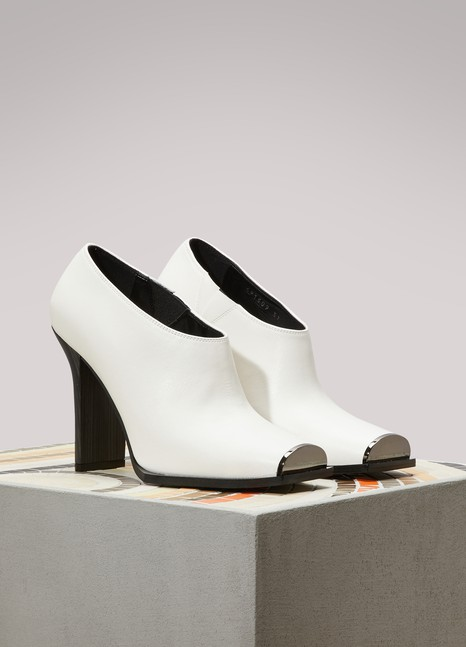 Stella McCartney Open Toe Ankle Boots