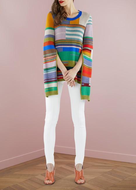 MARNIPull asymétrique en laine vierge