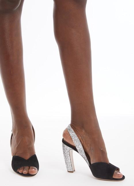 MIU MIUSequinned sandals