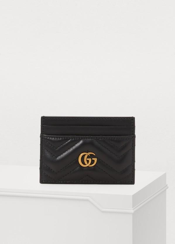 336ec7735e8 Gucci GG Marmont card holder Gucci GG Marmont card holder ...