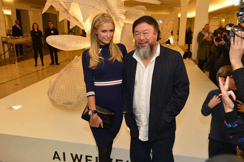 Ai Weiwei & Paris Hilton - © Say Who