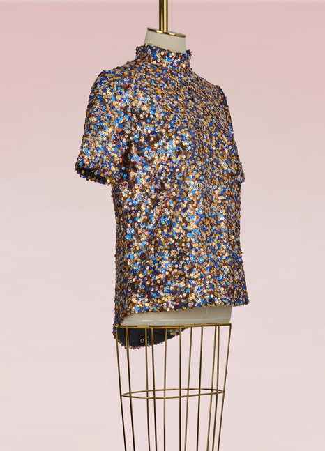 RoseannaJerry T-shirt With Sequins