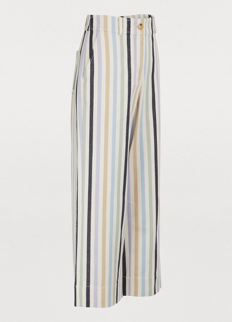 Tory BurchCropped striped pants