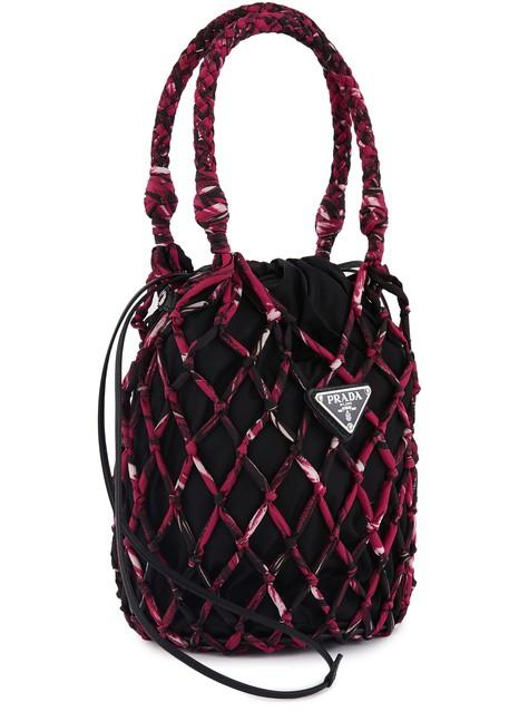 PRADAFisherman's Net hand bag