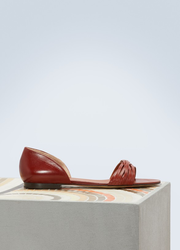 Michel VivienAmy flat sandals