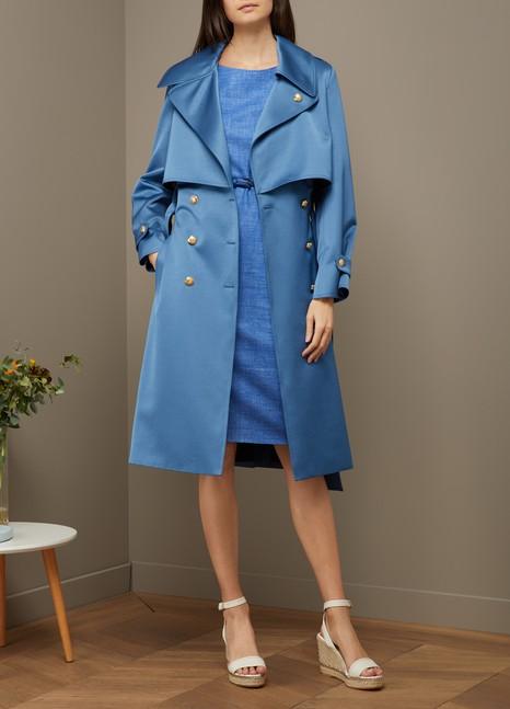 LANVINTrench-coat en satin