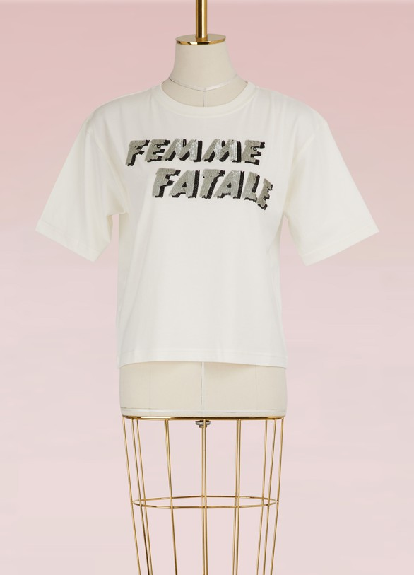Olympia Le TanT-shirt Femme fatale en coton