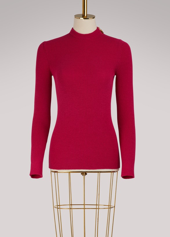 BalenciagaFitted sweater