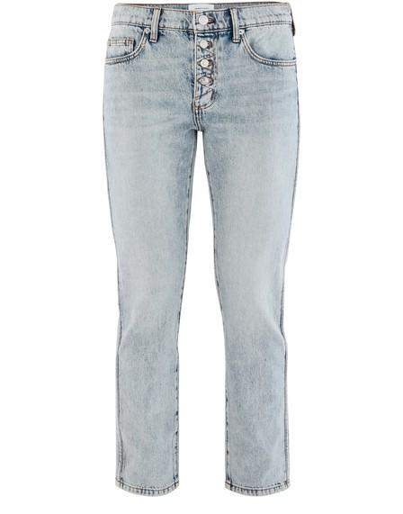 Current Elliott The Zig Zag Fling Jeans In Trettin W/Studs