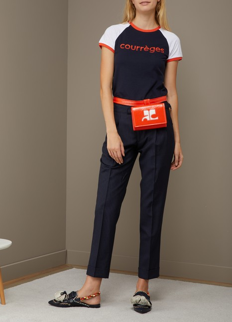 Courrèges Vinyl waist bag box