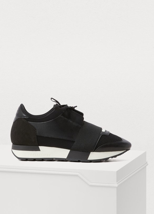 sleek innovative design well known Race sneakers