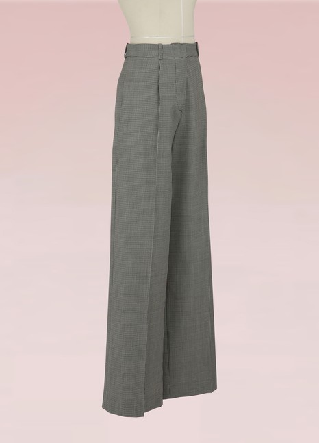 Victoria Beckham Straight-cut wide pants