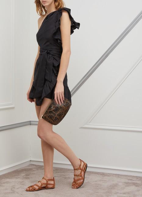 A.P.C.Leather Sarah pouch