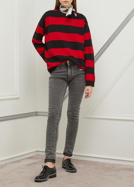 MARC JACOBSThe Grunge wool sweatshirt