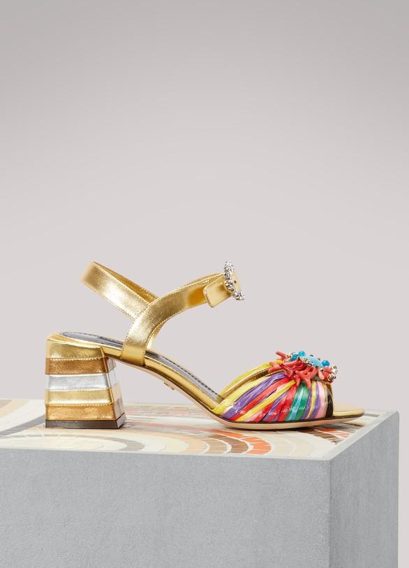 Dolce & GabbanaSandales colorées