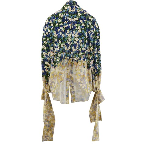 ROKH Silk blouse