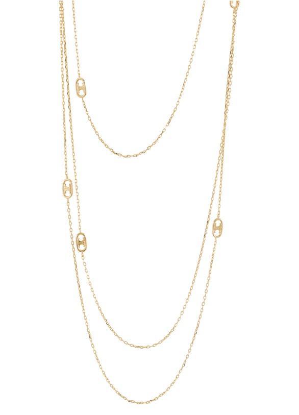 CELINENecklace with Arc de Triomphe pendant