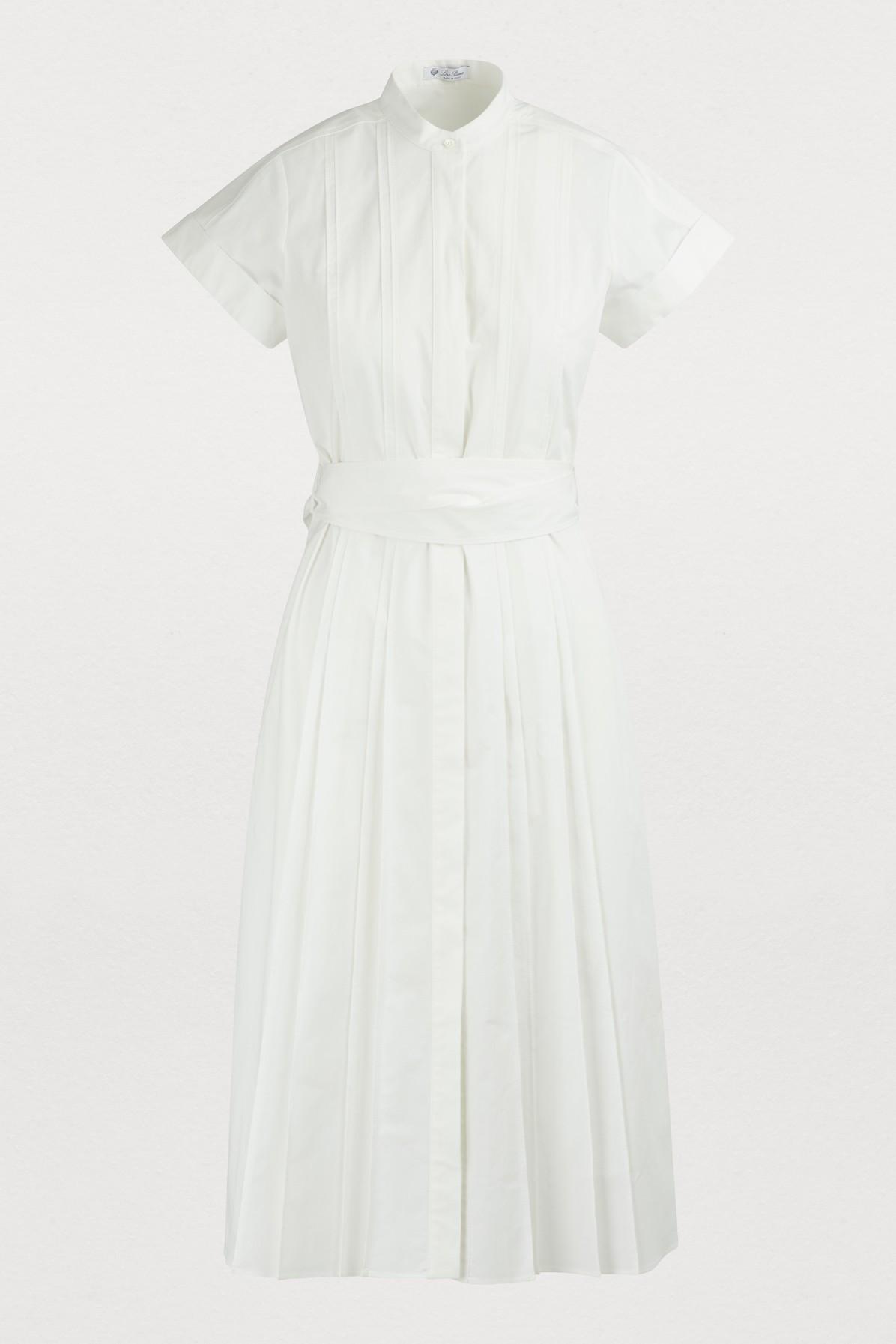 LORO PIANA | Short-Sleeved Dress | Goxip