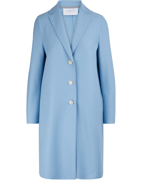 HARRIS WHARF Wool coat